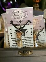 Witch's Shield Charm Necklace by Carol's Angel Chats
