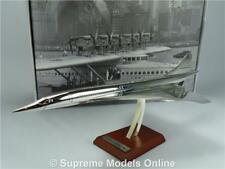 CONCORDE MODEL AIRCRAFT AIRPLANE 1:200 SIZE ATLAS SILVER CLASSICS 1969 + STAND T
