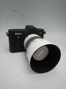 Nikon 1 J1 10.1 MP Digital Mirrorless Camera With 30-110mm f:3.8-5.6 Lens