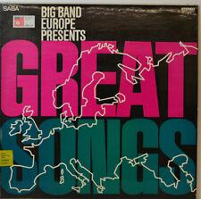 "BIG BANG EUROPE PRESENTS - GREAT SONGS - BASF CRA 770 - 12"" LP (Y621)"