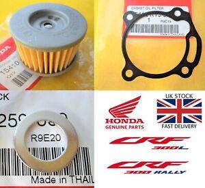 Honda CRF300 L & RALLY 2021 Model Oil filter + Gasket + Sump Washer **UK STOCK**