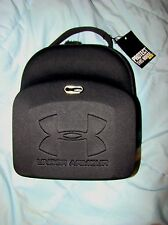 NWT UNDER ARMOUR BLACK PORTABLE ZIP UP VENTED HARD CASE BAG RARE MARKED SAMPLE