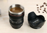 Camera Lens Mug Macro Cups Thermos Travel Tea Coffee Cup Stainless Steel Gifts