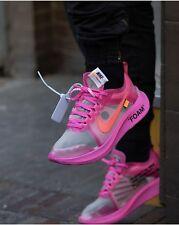 Hueso Nike Zoom Fly Tulipán Rosa UK 8 100% Auténticas