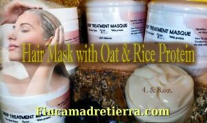 Hair Treatments: Deep Conditioning Mask. Rosemary Peppermint and Lemongrass oils