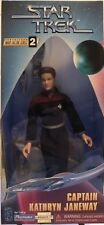 "**RARE** 9"" Star Trek Voyager CAPTAIN KATHRYN JANEWAY Action Figure / Doll"