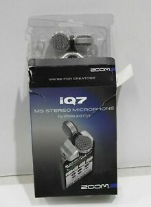 Zoom iQ7 Rotating Mid-Side Capsule for iOS Devices