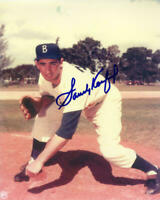 SANDY KOUFAX 8x10 SIGNED PHOTO AUTOGRAPHED ( Dodgers HOF ) REPRINT