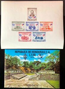 Honduras #C619,CO108a MNH