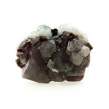 Celadonite après Apophyllite. 184.3 ct. Shakur Quarry, Maharashtra, Inde. Rare