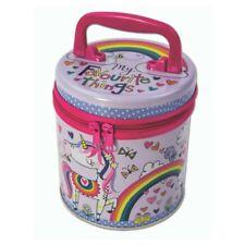 Princesa & Unicornio Con Cremallera Bote almacenaje Rachel Ellen Infantil