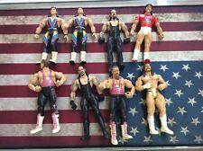 WWE WWF Jakks Wrestling Actiong Figure Lot Tito Undertaker Jennetty & More! Used