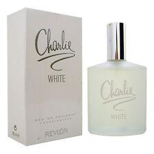 Charlie White REVLON Eau de Toilette Damen 100ml + 1 Kostenlose Probe