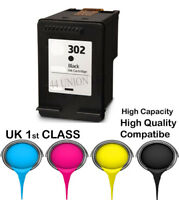 REMANUFATURED hp302 Black High Capacity& Quality cartridge for HP printer