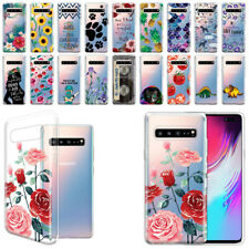 "For Samsung Galaxy S10 5G 6.7"" Ultra Clear TPU Soft Silicone Case Phone Cover"