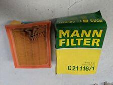 MANN AIR FILTER C21116/1 CITROEN XSARA PEUGEOT 206