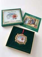 The White House Historical Christmas Ornament 2011 President Roosevelt NEW