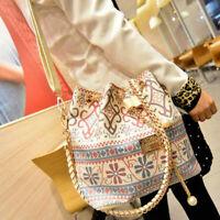 Ladies Boho Chains Handbag/Shoulder Bag, Damask, Vegan, UK Seller, BNWT