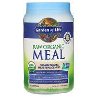 Garden of Life  RAW Organic Meal  Shake   Meal Replacement  Vanilla  2 lb 2 oz