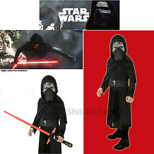 Star Wars Kylo Ren Darth Vader Boys Halloween Costume S: 7-8 Kids Child Black