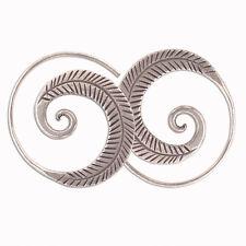 Handmade Earring Fine Silver Thai Karen Hill tribe