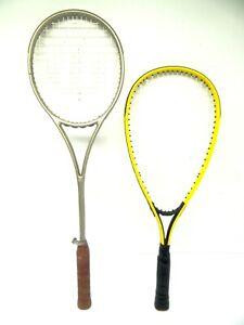 Speed Bird Yellow Squash Profile Wilson Dual Tapered Beam Badminton Rackets