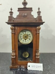 ART NOUVEAU MANTLE CLOCK ARTS AND CRAFTS STYLE CLOCKS BEAUTIFUL GWO FREE POSTAGE