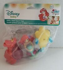 The First Years Disney Baby Ariel Bath Squirt Toys, The Little Mermaid *New*