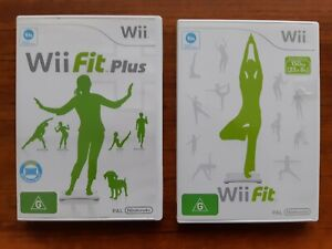 Nintendo Lot Of Wii Fit & Wii Fit Plus Comes With Instruction Booklet - PAL