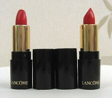 Lancome l`absolue Rouge Crema 132 Caprice - 2 X Mini tamaño-Reino Unido Freepost