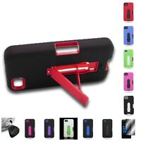 For Blackberry Z10 - Hybrid Stand Tough Protective Cover Case
