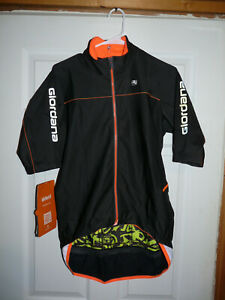 New Giordana Men's Cycling Acqua & Vento AV 200 S/S Winter Jacket Black Large