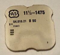 NEUF PART 401 FOR MOUVEMENT AS CAL 1475, 1568, 1930, @ LOT DE 3 TIGES REMONTOIRS