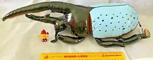 HUGE 60 CM RHINOCEROS BEETLE INSECT PLUSH MUSHI FIGURE + TAGS SK JAPAN ONLY NEW!