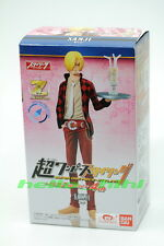 Bandai candy toy Super One Piece Styling Film Z special  4th figure Sanji