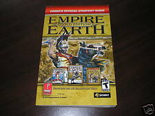 Empire Earth Gold Edition Mini Strategy Guide  PC   NEW