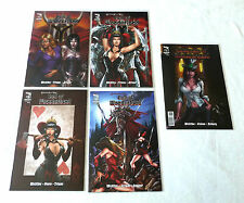 CALL OF WONDERLAND 1 2 3 & 4 & MADNESS OF WONDERLAND 1 w/ B&B! Grimm Fairy Tales