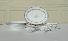 Noritake China Kent 7 Piece Accessory Set - Bowls Platter Creamer Sugar Gravy