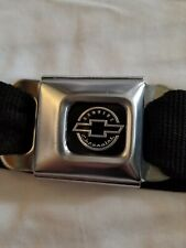 Seat Belt Buckle Belt BuckleDown Authentic Chevrolet Chevy Logo Adjustable