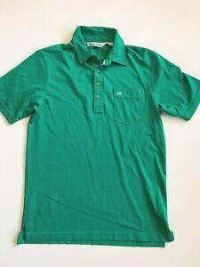 Travis Mathew Polo Shirt Men's Small Short Sleeve Green