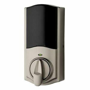 NEW! Kwikset 99250-102 Kevo Convert Smart Bluetooth Door Lock - Satin Nickel