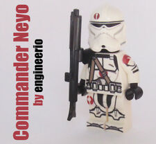 LEGO Custom -- Commander Neyo -- Clone Trooper minifigures rex cody