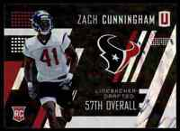 2017 PANINI UNPARALLELED ZACH CUNNINGHAM RC HOUSTON TEXANS #250