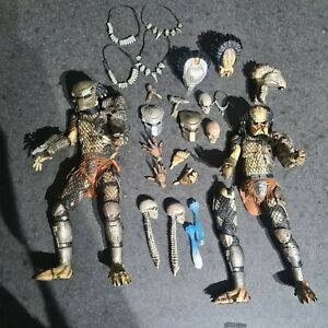 Neca Predator Figures x 2