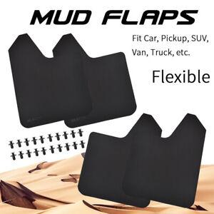 Rally Basic Universal 4x Mud Flaps Car Pickup Van Truck Mudguards Splash Guards