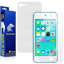 ArmorSuit MilitaryShield Apple iPod Touch 6G Screen Protector + White Carbon
