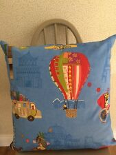 "Harlequin Fabric "" Distance Shores"" 22"" Large cushion,  inner included hand made"