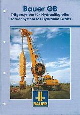 Equipment Brochure - Bauer - GB - Carrier System Hydraulic Grab- c2000 (E3452)