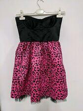 Abbey Dawn Avril Lavigne Strapless Mini Party Dress Perfect Condition Size Small
