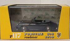 Brumm R117-02 Porsche Roadster 356 cabriolet Die cast voiture Modèle, Noir 1950 1:43